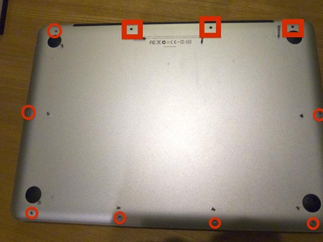 MacBookPro 底面