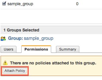 Attach Policy