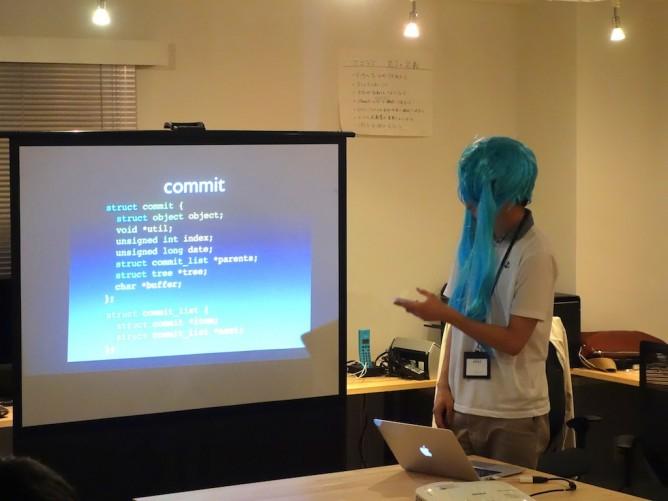 Gitのソースコードを解説するダニー